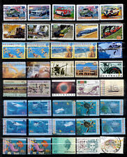Australia 205 Different Stamps 1984-1994 Lot Used