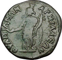 CARACALLA 198AD Anchialus in Thrace TYCHE Authentic Ancient Roman Coin i50921