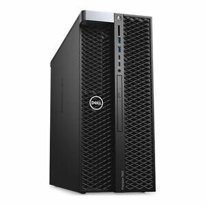 DELL PRECISION T7820 2 x Xeon GOLD 6140 32GB RAM  256 SSD