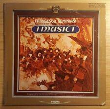 "Geminiani: Concerti Grossi Op. 7, I Musici, autographed 12"" 1966 LP, PHC 9010 VG"
