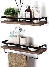 SODUKU Floating Shelves Wall Mounted Storage Shelves for Bathroom and Kitchen