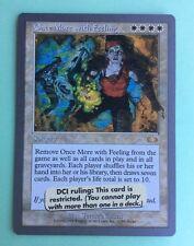 MTG MAGIC Carte ONCE MORE WITH FEELING Ed. UNGLUED