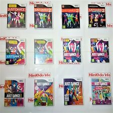 Nintendo Wii Just Dance Game series - Multi-Listing - Make your selection