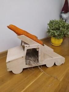 Guinea pig Katyusha rocket launcher feeder hideaway house manor furniture
