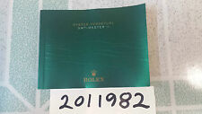 Rolex Watch Manual Instruction Booklet Chinese Ver. 2014 for GMT Master 2 116710