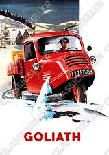 Goliath GD 750 Lieferwagen Kleintransporter Nutzfahrzeug GD750 Poster Plakat
