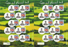 GREAT BRITAIN GB 2008 Royal Mail SMILERS SHEET CRICKET HAMBLEDON STONE No 37/50