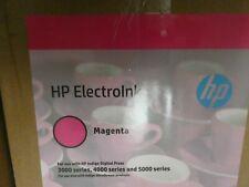 More details for hp indigo electroink 10 cans for indigo press 3000/4000/5000 magenta q4014b