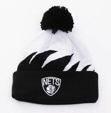 6ca75bf47e4 ... Philadelphia 76ers.  22.50 New. Brooklyn Nets Mitchell   Ness  Sharktooth Cuffed Beanie Knit Hat With Pom