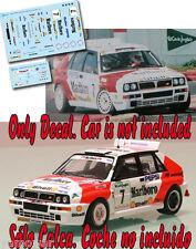 Decal 1:43 Luis Monzon - LANCIA DELTA - Rally El Corte Ingles 1992
