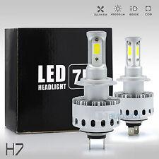 All in One H7 100W 10000LM CREE LED Headlight High Beam Bulbs 6000K White