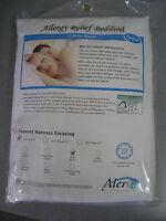 NEW Cotton Allergy Relief Bedding Allergy Resistant Mattress Encasing Size Full