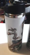 Fantasy Cup Mystical Nymph Stainless Steel Travel Mug Dragons Faeries Brand New