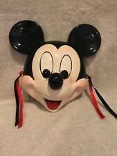 Vintage Walt Disney Company Mickey Mouse Collectible Ceramic Porcelain Face Wall