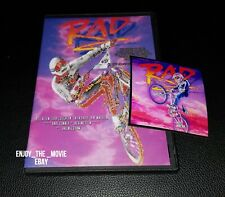 RAD (1986) DVD Classic BMX Movie & Cru Jones Magnet **Read full details