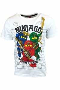 Ninja LEGO t-shirts boys short sleeve top