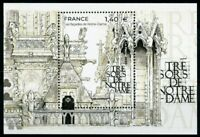 France Architecture Stamps 2020 MNH Treasures of Notre Dame Facades 1v M/S