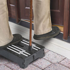 Anti-Slip Half Step Stool Elderly Disability Door Walking Outdoor Mobility Aid
