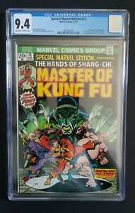 SPECIAL MARVEL EDITION #15 • CGC 9.4 • 1ST SHANG-CHI