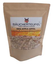 RÄUCHERTEUFEL Apfelholz-Chips 700g, Smoker Chips, Räucherchips, BBQ, Grillen
