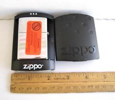 ZIPPO LIGHTER NEW SILVER B ZIPPO 06,ETC. With Old One Cent USA Coin; MADE IN USA