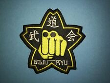 Taekwondo Goju Ryu Karate MMA Martial Arts TKD Uniform Gi Patch Crest 634