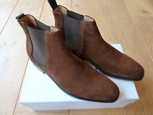 Paul Smith Chelsea Boots GERALD Suede SIZE 10 : NEW WITH BOX