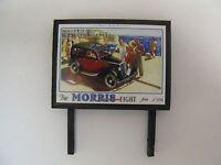 The Morris Eight from £118 - Model Railway Billboard - N & OO Gauge
