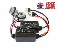 2 x P21W 1156 CANBUS LED Resistor Plug and Play AUDI b7 RS4 DRL DAYTIME Parking