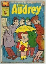 PLAYFUL LITTLE AUDREY #1 (Tiny Back-Up Story, Bosco Pirate Promo) Harvey, 1957