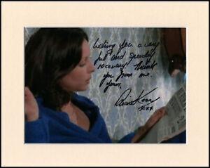 "Diane Keen Cuckoo Waltz Sweeney Original Signed 10x8"" Mounted Autograph Photo"