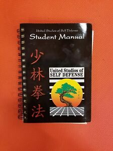 Shaolin kempo black belt manual Martial Arts Karate kenpo self defense shao lin