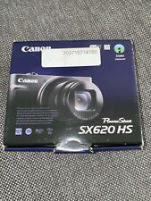 NEW* Canon PowerShot SX620 HS 20.2MP Digital Camera - Black