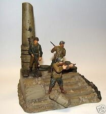 1:32 Ultimate Soldier WWII Europe German Destroyed Monument City w. U.S Figures