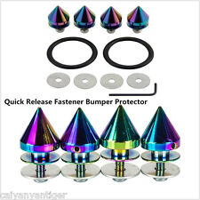Colorful Quick Release Fasteners Kit For Car Bumpers Trunk Fender Lids Protector