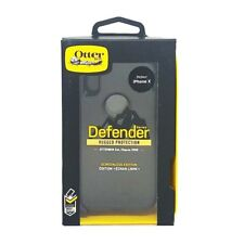 Capa Case Otterbox Defender Series para iPhone Apple X 10-Preto -Na caixa varejo