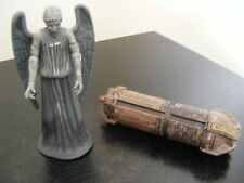 DOCTOR DR WHO WEEPING ANGEL FIGURE 2007 + SECRET COINS CONTAINER