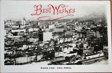 Buenos Aires, Argentina 1925 Realphoto Postcard: Vista Parcial - Birdseye View