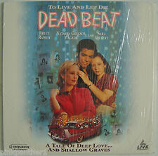DEAD BEAT  Sara GILBERT  Bruce RAMSAY  Coming-of-age Thriller  Rare  LaserDisc