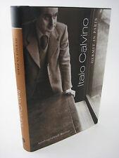 1st Edition HERMIT PARIS Italo Calvino AUTOBIOGRAPHICAL WRITINGS First Printing