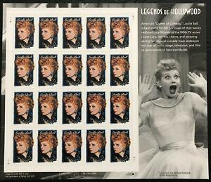 2001 Scott #3523 - 34¢ -  LUCILLE BALL - LEGENDS OF HOLLYWOOD -Sheet of 20 - MNH