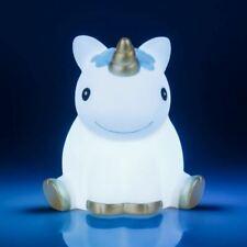 Azul Unicornio Dormitorio Noche Luz Lámpara de - Oficina Accesorios en Caja