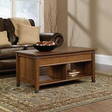 Sauder Carson Forge Lift-top Coffee Table Washington Cherry - 414444