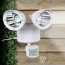 Solar Street Lights Outdoor Lamp 22 LED Dual Head Motion Sensor Light Outdoor