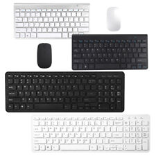 Mini Keyboard Mouse USB Wired Wireless Gaming Keypad Mac Tablet Laptop Computer