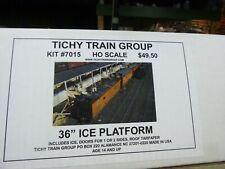 "-HO BUILDING KIT } TICHY TRAIN GROUP 36"" ICE PLATFORM"