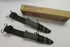 LOT OF 2 M8A1 BAYONET SCABBARD VIETNAM ERA NEW UN-ISSUED NOS MARCH 1967