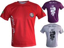 Alfa Romeo T-shirt Sport Maglietta Camiseta Quadrifoglio Q4 DTM Racing Travel