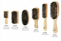 MAGIC Collection Hard and Soft Reinforced Boar Bristle Wave Brushes FULL RANGE