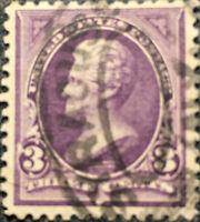 Vintage Scott #268 US 1895 3 Cent Andrew Jackson Bureau Postage Stamp